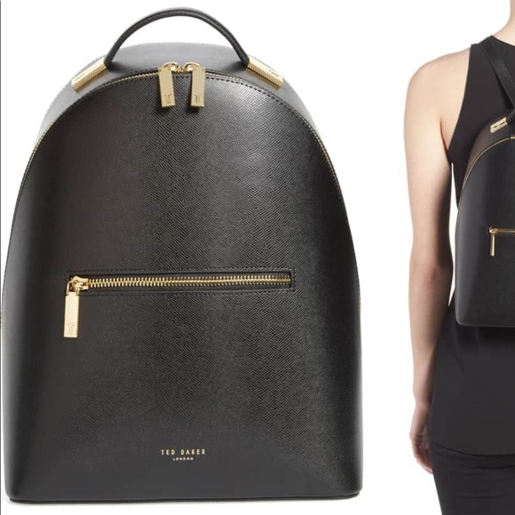 8ba93a84a Ted Baker London Mini Jarvis Leather backpack bag.  M 5c3c7eed534ef94a32e5d97f